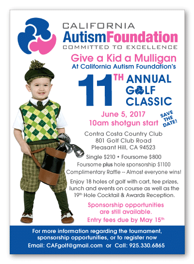 California Autism Foundation Golf