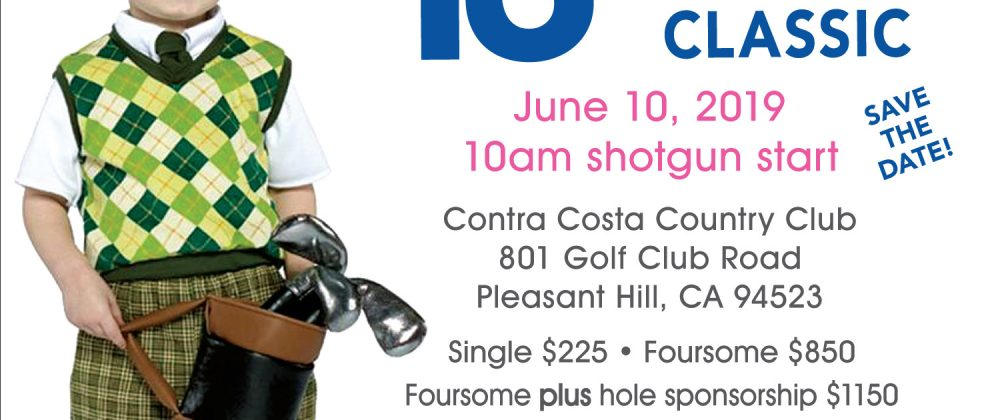 13th Annual Golf Classic - front