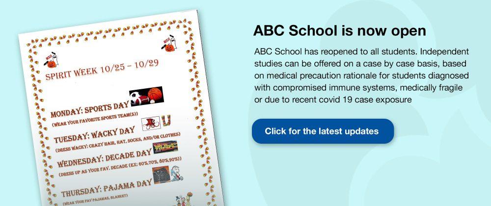 ABC School Now Open